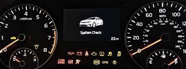 indicator lights on your dash