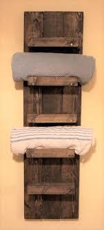 towel rack bathroom shelf shelves stands for wooden bathrooms