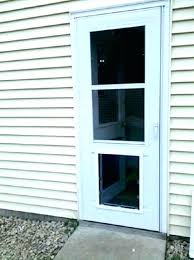 screen door with doggie door dog door for sliding screen with built in doors glass exterior door sliding door dog door solutions for french doors in glass