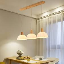 Image Chairs Led Suspended Lighting Wooden Chandelier Dining Room Pendant Lamps Restaurant Hanging Lights Nordic Illumination Fixtures Aliexpress Led Suspended Lighting Wooden Chandelier Dining Room Pendant Lamps
