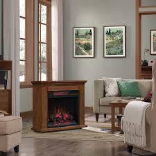 duraflame rolling mantel with infrared quartz fireplace premium oak com