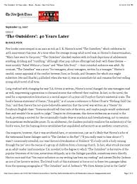 s outsiders nuvolexa the outsiders 40 years later books review new york times essay questions 1513360 outsiders essay essay