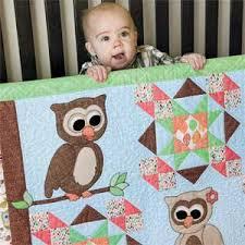 Cute Hoots: Quick Adorable Fusible-Appliqu Owl Baby Quilt Pattern ... & Cute Hoots: Quick Adorable Fusible-Appliqu Owl Baby Quilt Pattern Adamdwight.com