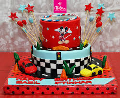 Cars Track Kids Birthday Cake Customized Cakes In Lahore