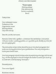 Write a killer cover letter