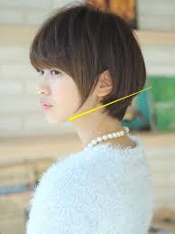 とっても人気な前下がりのショートヘアってどんな髪型 ショート