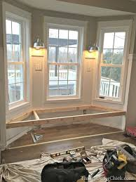 diy bay window seat. Exellent Seat Building A Window Seat  I Have Been Wanting One In The Bedroom Forever  Slm With Diy Bay Window Seat