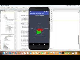 Android Create A Radar Chart With Mpandroidchart Youtube