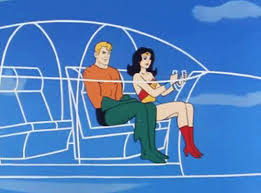 Invisible Jet / Wonder Woman & Aquaman | 70s cartoons, Superfriends, Aquaman
