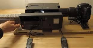 a diy rig for scanning hundreds of slides in a hurry