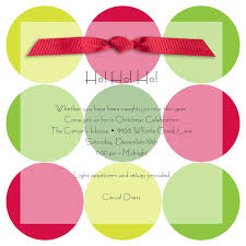 christmas invitations christmas invitations for special events holiday dots invitations