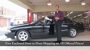 1996 Impala SS for sale with test drive, driving sounds, and walk ...