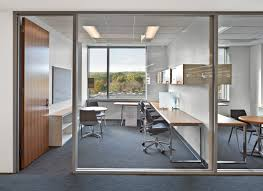 a framed interior glass office enclosure dorma s interior pure enclose office front with a wood door