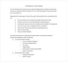 Event Proposal Sample Template Free Documents Planning Business Plan ...