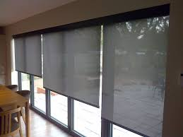 Blinds In Windows Door