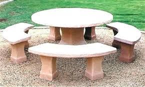 concrete patio table miami furniture for near