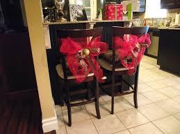 christmas chair backs - Google Search