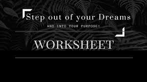 kick your career into action this dream worksheet looking to start a new career or business this dream worksheet will get you on the right track