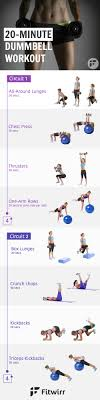 dumbbell workout routine for women