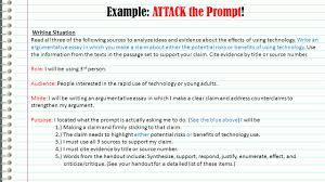 An Example Of An Argumentative Essay Fsa Writing Argumentative Essays English Language Arts Ppt Video