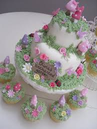 Small Picture 27 best Fairy Garden Cake Ideas images on Pinterest Fairies