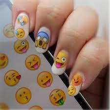Emoji Nail Art Stickers – Nail Sugar