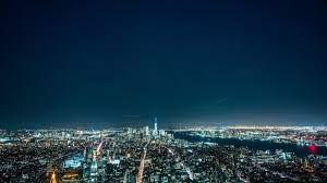 night city, night, city lights 4k Wallpaper