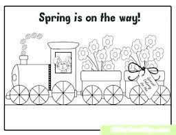 Coloring Pages For Preschoolers Spring Preschool Spring Coloring