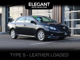 2009 Toyota Corolla S SEDAN - CLEAN - NEW TIRES
