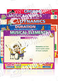 Music Education Wall Charts Music Elementary Interactive Music Educational Software