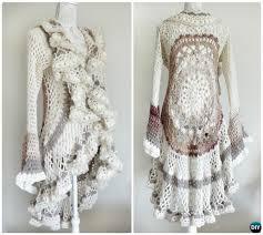 Crochet Circular Vest Pattern Free Mesmerizing DIY Crochet Circular Vest Sweater Jacket Free Patterns