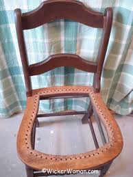 strand cane removed from seat