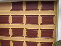 garage door tutorial everything i create paint garage doors to look like wood
