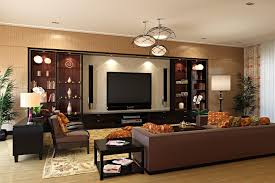 Living Room Tv Set Living Room Luxurious Home Interior With Contemporary