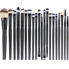 emaxdesign 20 pieces makeup brush set 1016