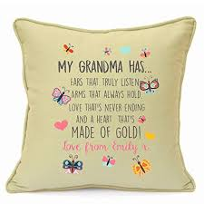 personalised presents gifts for grandma granny nanny grandmother birthday mothers day my grandma has beautiful