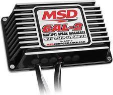 msd 6al box msd 64213 6al 2 multiple spark ignition controller box 2 step rev limiter