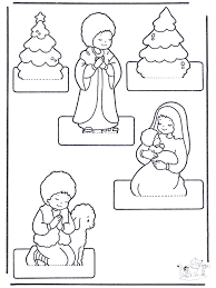 Kerststal Knutselen 2 Knutselen Kerst