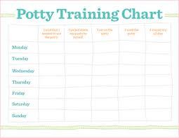 Potty Training Charts Misc Toddler Potty Training