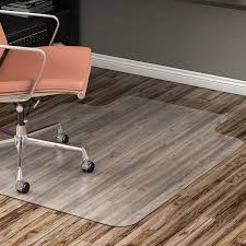 accessories interesting rectangle transpa polycarbonate desk chair floor mats cream oak hardwood flooring chrome desk arm