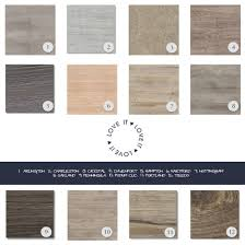 the colour range is sophisticated but has a natural charm you would expect to find from authentic wooden floors
