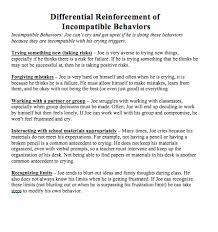 behavior management jon weinberger impact of special needs dri plan an example