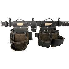 makita tool belt. awp hp general construction leather tool rig makita belt