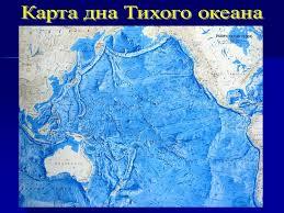Тихий океан География материков и океанов Котловины архипелаги и острова