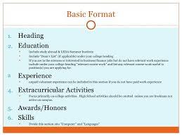 How To Write A Resume; 2.