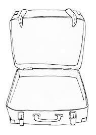 Afbeeldingsresultaat Voor Koffer Tekenen Thema Vakantie Zomer