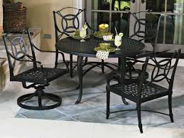 view woodard cast aluminum hampton 48 round table top with umbrella hole