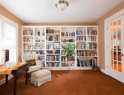 home library office. Home Office Library Design Ideas Small .