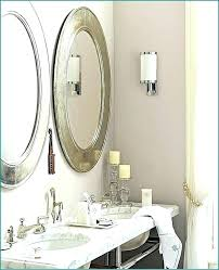 silver framed bathroom mirrors. Exellent Mirrors Sconces Bathroom Mirror Silver Framed Mirrors Oval  With Led Wall And Silver Framed Bathroom Mirrors