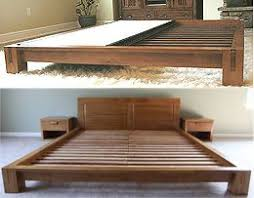 king japanese platform bed. Delighful Bed Platform Beds  Low Beds Japanese Solid Wood Bed Frame For King N